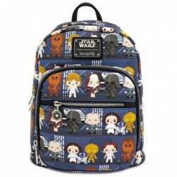 STAR WARS FAUX LEATHER MINI BACKPACK